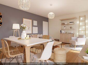 Appartement 2 pièces – 44m2 – Orelle – 3 Vallées – Savoie (73)